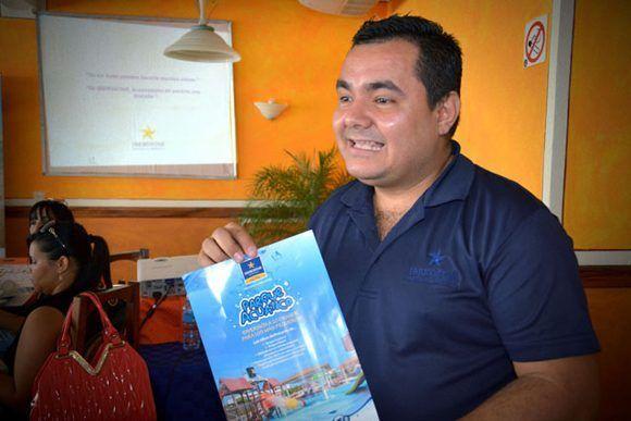 Alexeis Torres Velázquez, ejecutivo de marketing de Iberostar.